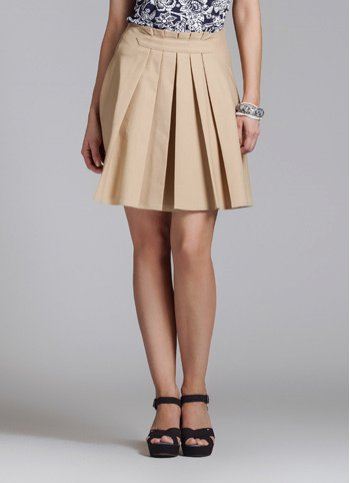 Pleated skirt Lunaria Female dress