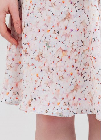 Ladies skirt Nola with floral print Female dress