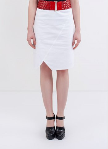 Asymetric pencil skirt Bianca Female dress