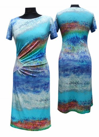 Summer yersey dress Female dress