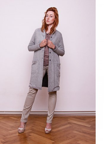 Loose coat-sweater Thea Female dress
