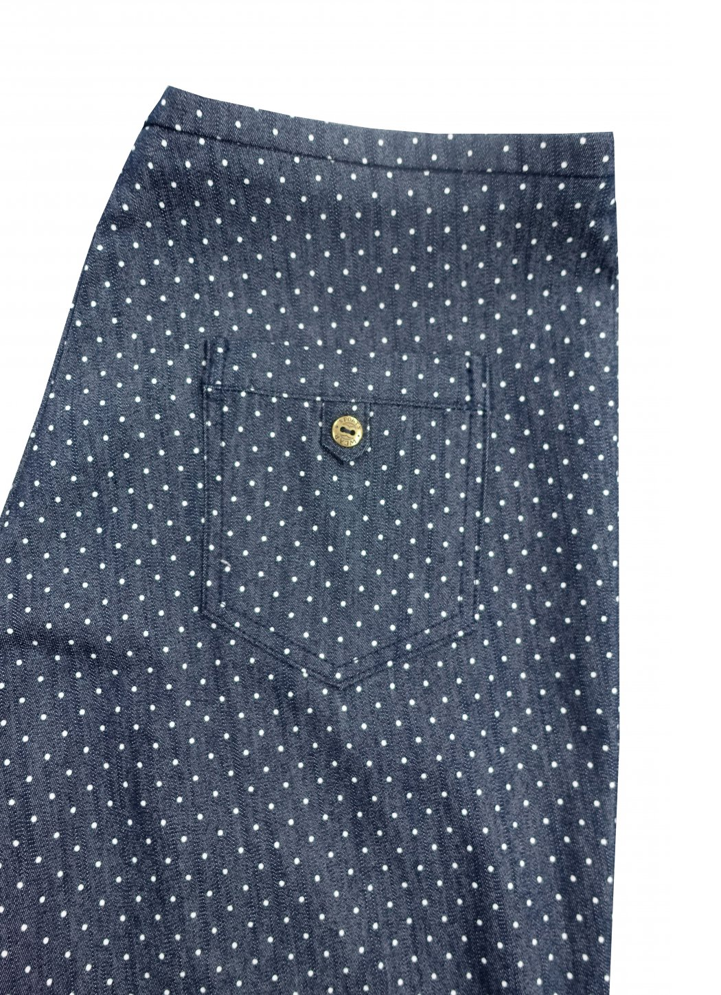 Dotted jeans Female dress
